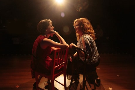 Carolyn Burke and Katie McManus. Photo by Keith Waters, Kx Photography.