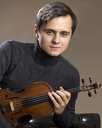 Violinist Aleksey Semenenko. Photo courtesy of Young Concert Artists, Inc.