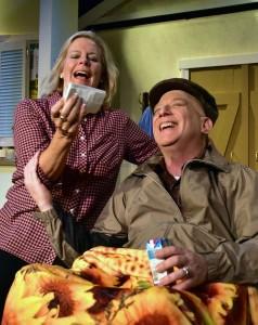 Susan Garvey and Bob Cohen. Photo by Chip Gertzog.