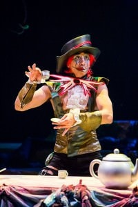 Dallas Tolentino (The Mad Hatter). Photo by Johnny Shryock.