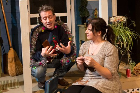 Will Hardy and Gillian Shelly. Photo courtesy of Quotidian Theatre Company.