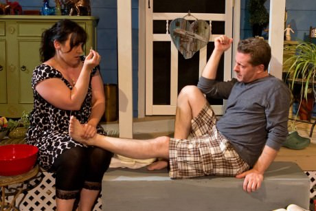 Gillian Shelly and Will Hardy. Photo courtesy of Quotidian Theatre Company.