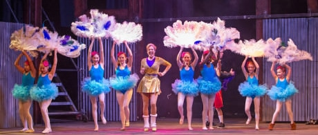 Anna Connors (Mrs. Wilkinson) with Ballet Girls. Photo by Laura Briglia Photography.