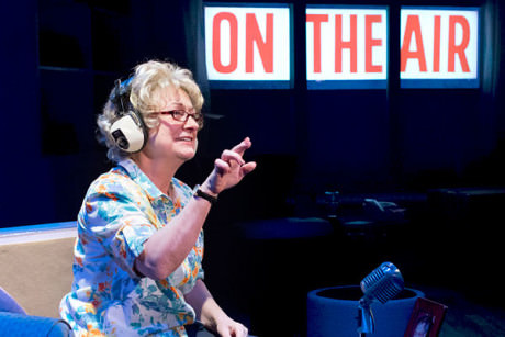 Jane Ridley as Dr. Ruth Westheimer. Photo by Mark Garvin.