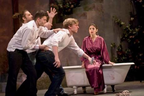 The cast of 'Big Love.' Photo courtesy of The Catholic University.