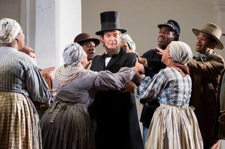 Tom Fox (Abraham Lincoln). Photo by Scott Suchman.
