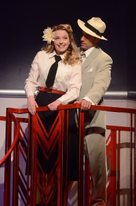 Sarah Brown (Jessica Lauren Ball) and Sky Masterson (Matt Faucher). Photo by Stan Barouh.