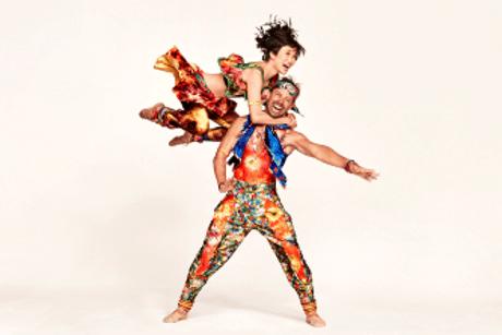 Rika Okamoto and Matthew Dibble in 'Yowzie'. Photo by Ruven Afanador.