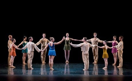 Twyla Tharp's 'Prelude and Fugues'. Photo by Sharen Bradford.