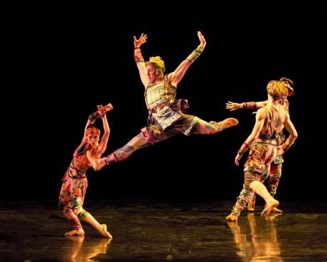 Twyla Tharp's Yowzie. Photo by Sharen Bradford.