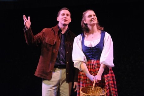 Tommy Albright (Mike McLean) and (Fiona). Photo courtesy of Compass Rose Theater.
