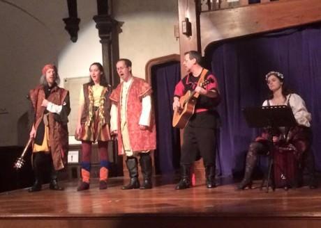 With Zach Brewster-Geisz, Katharine Ariyan, Ben Fisler, Jamie Horrell and Tegan Williams. Photo by Mena Lapasset.