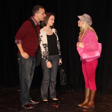 Katherine Worley, Adam Blackstock and Jennie Phelps. Photo by Lorraine Autumn Brantner.
