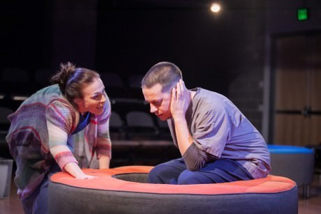 Laura C. Harris (Whitney) and Daniel Corey (Max). Photo by C. Stanley Photography.