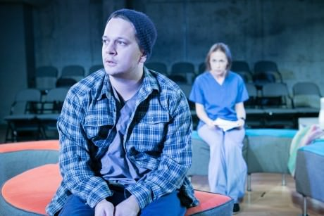Daniel Corey (Max) and Laura C. Harris (Whitney). Photo by C. Stanley Photography.