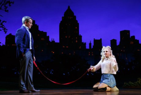 Matthew Broderick and Annaleigh Ashford. Photo by Joan Marcus.