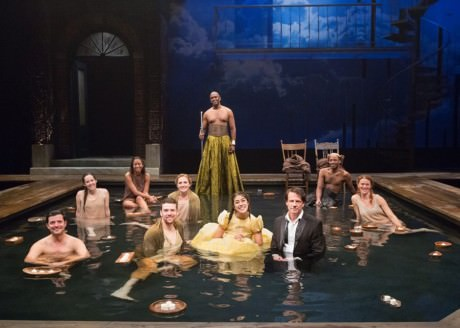 The cast of 'Metamorphoses' at The Arden. Photo by Mark Garvin.