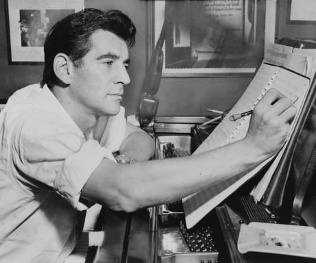 Leonard Bernstein, 1955. Photo courtesy of http://overtures.org.uk/?p=4160