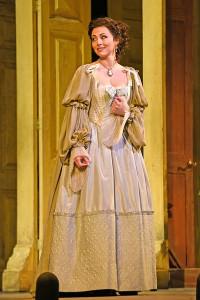 Isabel Leonard (Rosina) in 'The Barber of Seville.' Photo by Karen Almond.