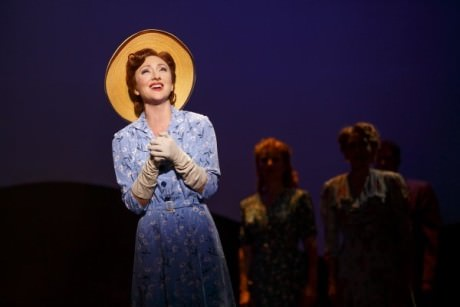 Carmen Cusack in 'Bright Star' at the Kennedy Center. Photo by Joan Marcus.