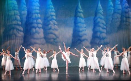 The cast of 'The Nutcracker.' Photo by Goli Kaviani.