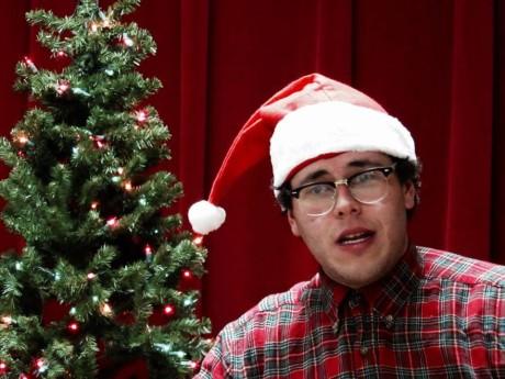Thomas DiSalvo as Thurston Wheelis in 'A Tuna Christmas.'