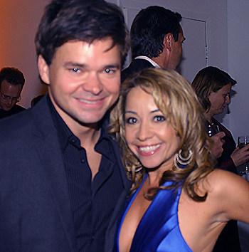 Director Hunter Foster and Choreographer Jennifer Cody. Photo by Michael Portantiere, BroadwayStars.