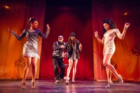 Sharisse Taylor, Vato Tsikurishvili, Irina Kavsadze and Taylor Robinson. Photo by Johnny Shryock.