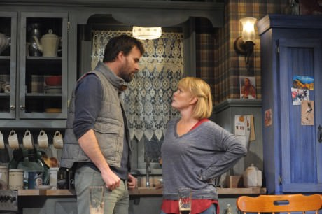 Tim Getman (Anthony) and Beth Hytlon (Rosemary). Photo by Stan Barouh.