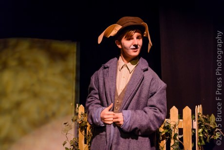 Brian Patrick McNally (Peter Rabbit). Photo by Bruce F. Press Photography.
