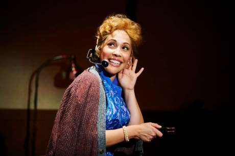 Andrea Burns as Judy Holliday in 'Smart Blonde.' 'Photo by Kristi Jan Hoover.