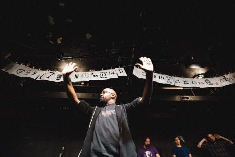 Ensemble member Bilal Dardai. Photo by Joe Mazza Brave Lux.