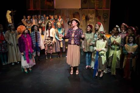 The cast of 'As You Like It.' Photo courtesy of Lumina Studio Theatre.