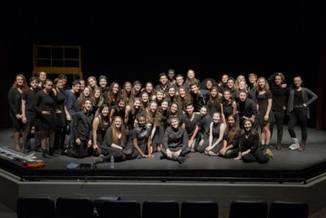 Tony Vincent and the Act Two at Levine students who attended his Master Class.