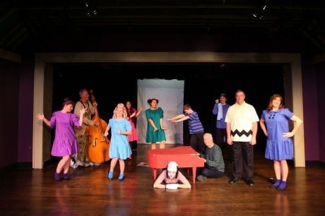 The cast of 'A Charlie Brown Christmas.' Phoot by Scott D'Vileskis and Brian Boyd.