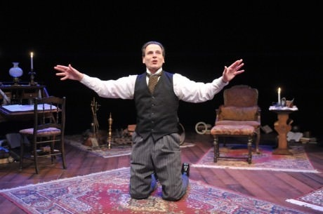 Paul Morella in 'A Christmas Carol: A Ghost Story of Christmas.' Photo by Stan Barouh.