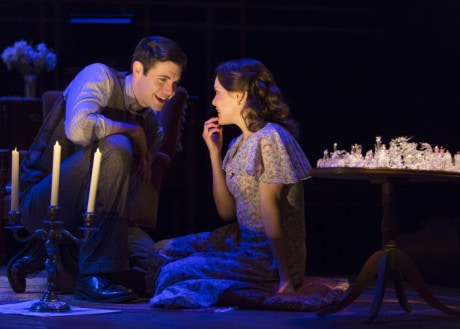 """Thomas Keegan and Jenna Sokolowski in """"The Glass Menagerie"""" at Ford's Theatre. Photo by Scott Suchman."""