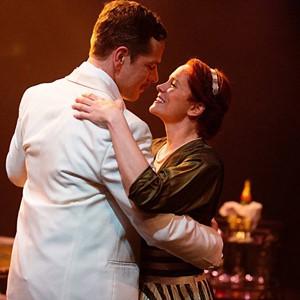 Russell Rinker and Teresa Dansky.