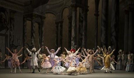 Scene from Alexei Ratmansky's 'The Sleeping Beauty. ' Photo by Gene Schiavone.