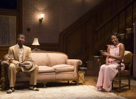 David Pegram and Miriam A. Hyman. Photo courtesy of McCarter Theatre Center.