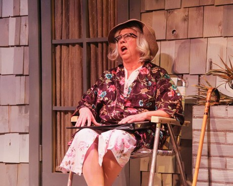 Jennifer Strand (Older Big Edie). Photo by Matt Liptak.