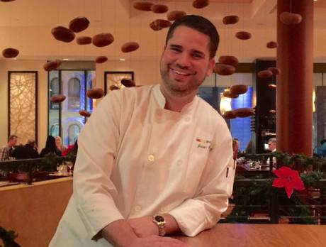Zengo Chef de Cuisine Jason Streiff.