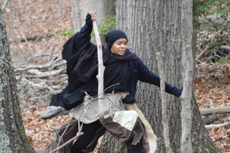 Escape: Linaé Bullock (Harriet Tubman). Photo by Mike Biggz.