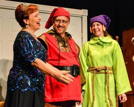 Debbie Samek, Scott Beadle, and Nicole Musho. Photo by Andrew Culhane.