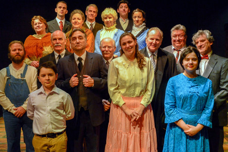 Cast of 'Our Town.' Photo by Tessa Sollway.