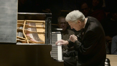 """Pianist Brian Ganz with """"The Art of the Mazurka,"""" presented by the National Philharmonic at the Strathmore. Feb. 7, 2015. Photo: Jay Mallin jay@jaymallinphotos.com"""