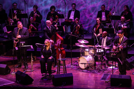 A Jazz New Year's Eve: Diane Schuur and Strings, Celebrating Sinatra's Centenary. Photo by Jati Lindsay. (2)
