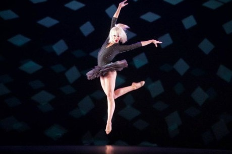 Adrienne Canterna in 'Bad Boys of Dance.' Photo by Nikolay Krusser.