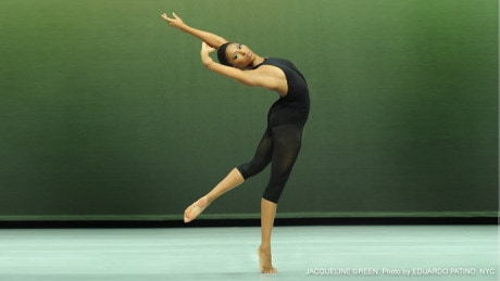 Jacqueline Green. Photo courtesy of Alvin Ailey American Dance Theater.