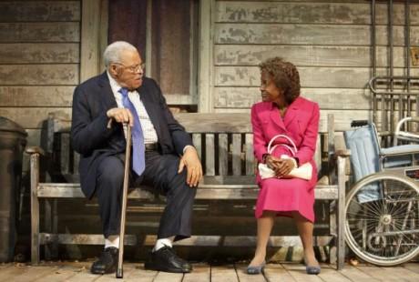 James Earl Jones and Cicely Tyson. Photo by Joan Marcus.